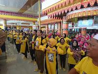 Acara Gebyar Sehat di Lamban Gedung Kuning Berlangsung Meriah