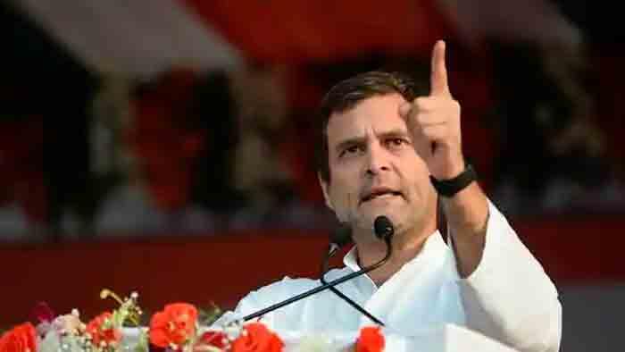 Rahul slams LDF govt over PSC rank holders protest, claims BJP going soft on cases against CM''s office, Thiruvananthapuram, News, Politics, CPM, Congress, BJP, Rahul Gandhi, Kerala