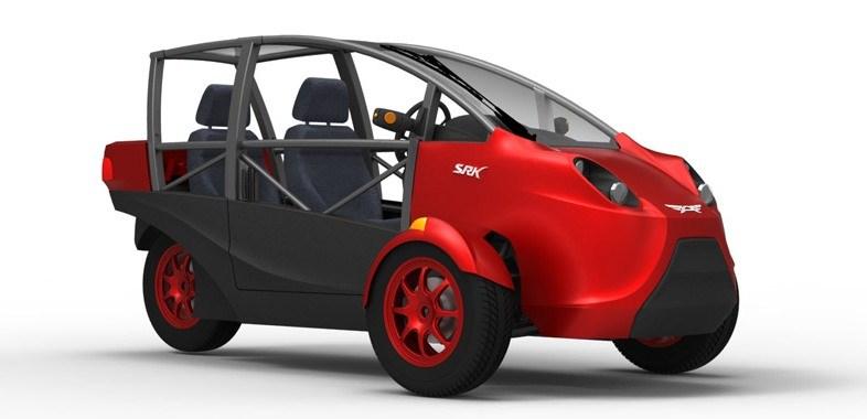 Tilting Vehicles Blog: Non Tilting Reverse Trike