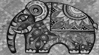 hiasan dekoratif motif hewan
