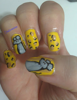 mouse_and_cheese_nail_art