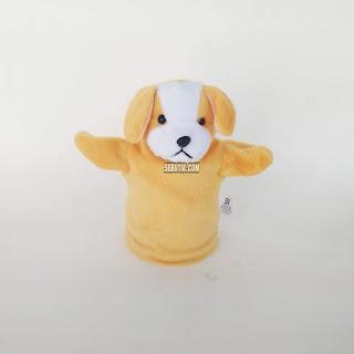 Boneka Tangan Anjing Murah Jogja