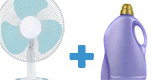 DIY Cuci Bilah Kipas Dengan Pelembut Pakaian Tahan Tanpa Habuk Selama 3 Bulan