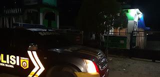 Antisipasi Kejahatan, Polsek Maiwa Polres Enrekang Laksanakan Patroli Malam