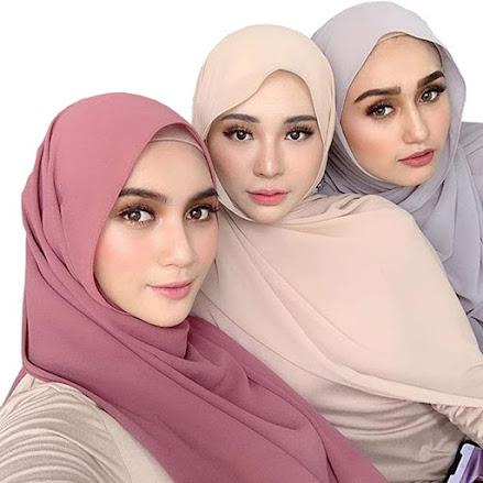 Best Chiffon Head Scarves Hijab Shawls Pashmina