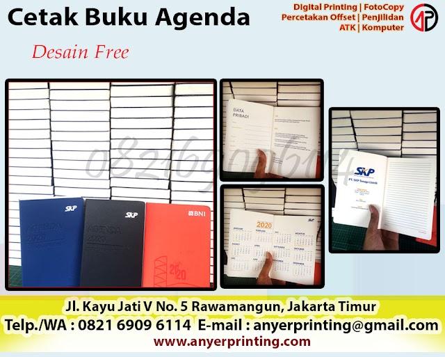 Cetak Buku Agenda Rawamangun Jakarta Timur