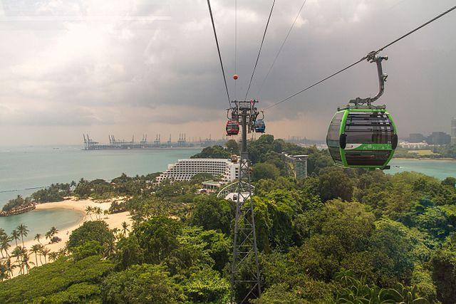 Singapore Cable Car - Sentosa