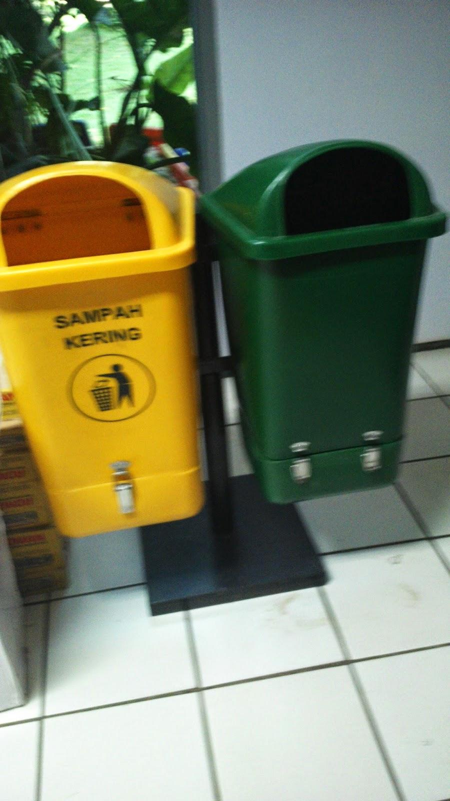 tempat sampah bahan HDPE
