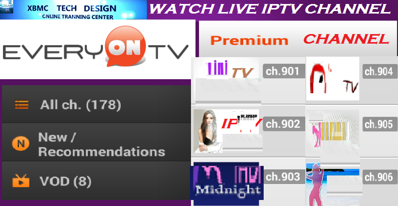 Download EveryONTV IPTV App LiveTV FREE (Live) Stream Update (Pro) IPTV Apk For Android - Watch World Premium Cable Live Tv Channel on Android