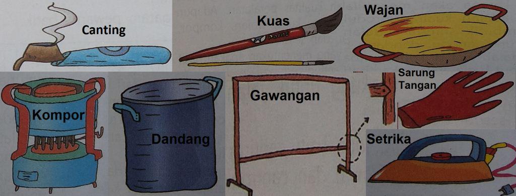 Peralatan Membatik