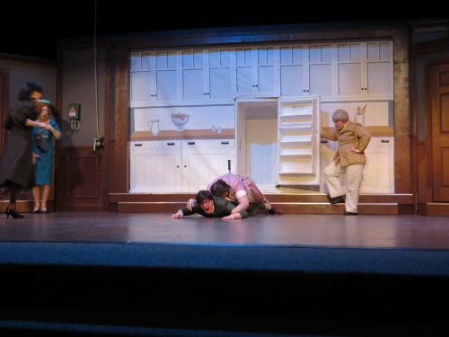 scene from play Clue