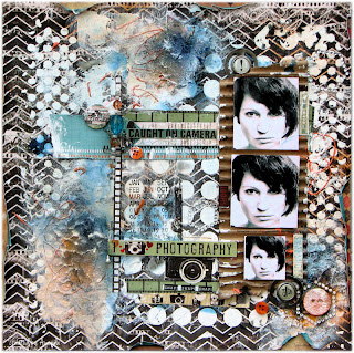 Scraps of Darkness - created by Aida Domisiewicz with the Remember When kit