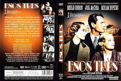 Carátula dvd: Esos tres (1936)