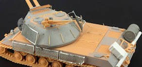 Build review Pt II: 1/35th scale Soviet Object 703 Version II from Resin Scales - Adding detail befo