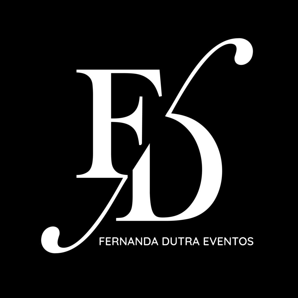 logo fernanda dutra eventos especializada em destination wedding no sul do brasil e em portugal