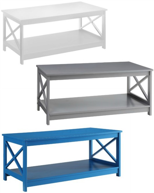 Cheap Good Coffee Table in Different Colors