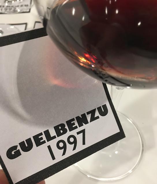 Desgranando más vinos históricos. Guelbenzu 1997
