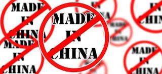 ChineseProductsInDustbin