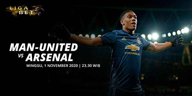 PREDIKSI PARLAY MANCHESTER UNITED VS ARSENAL MINGGU 1 NOVEMBER 2020