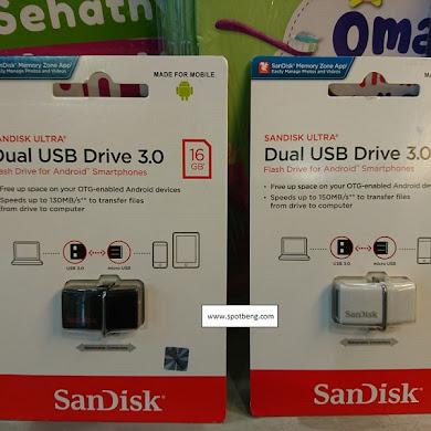 Transfer dan Backup Data Smartphone Jadi Lebih Mudah Dengan USB OTG SanDisk