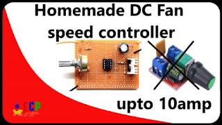 how to make dc fan speed controller