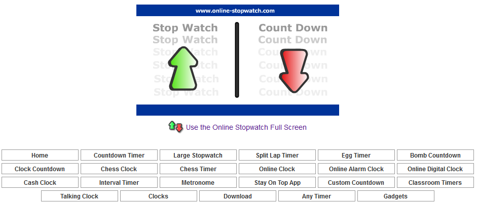 Enchanted with Technology: Online Classroom Stopwatches ...