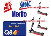 Logo Eroi di Casa ''Pulito a tutta velocità'': vinci buoni carburante da 100€ e Ninebot monopattini! Anticipazione