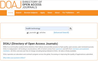 mencari jurnal internasional kesehatan