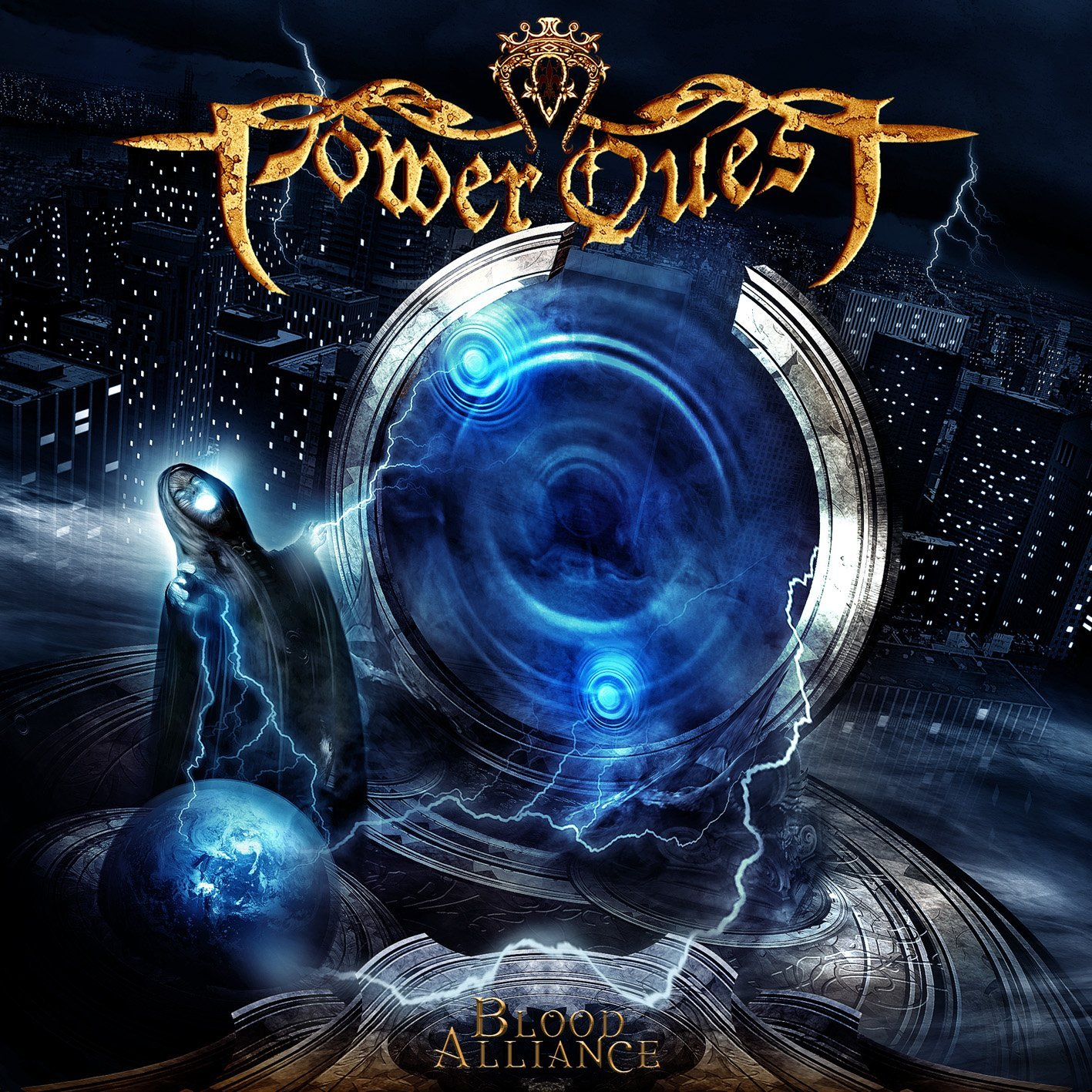 Riddle Of SteeL - MetaL Music: Power Quest - Blood ...