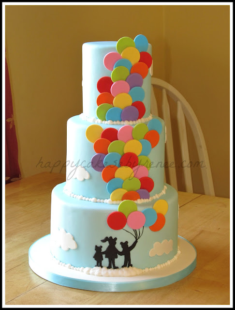 Happy Cakes Bakes Balloon Cake