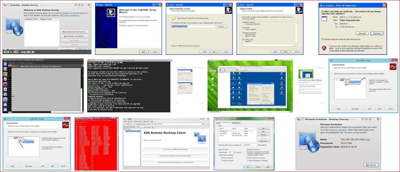 TightVNC - Acesso Remoto no Linux - F2 - SUPORTE | WINDOWS