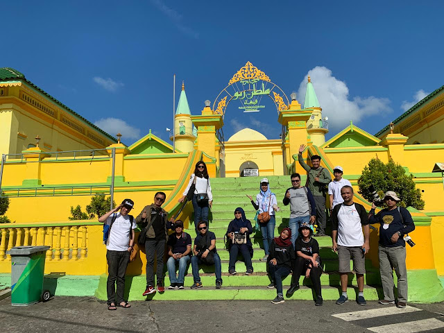 Tim CoE Festival Pulau Penyengat 2019