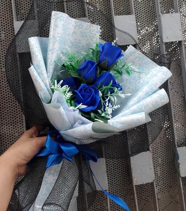 Bó hoa hồng 5 bông
