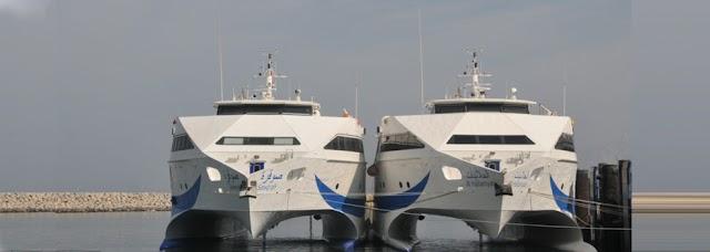 جدول الرحلات! من ميناء شناص إلى ميناء خصب والعكس؟