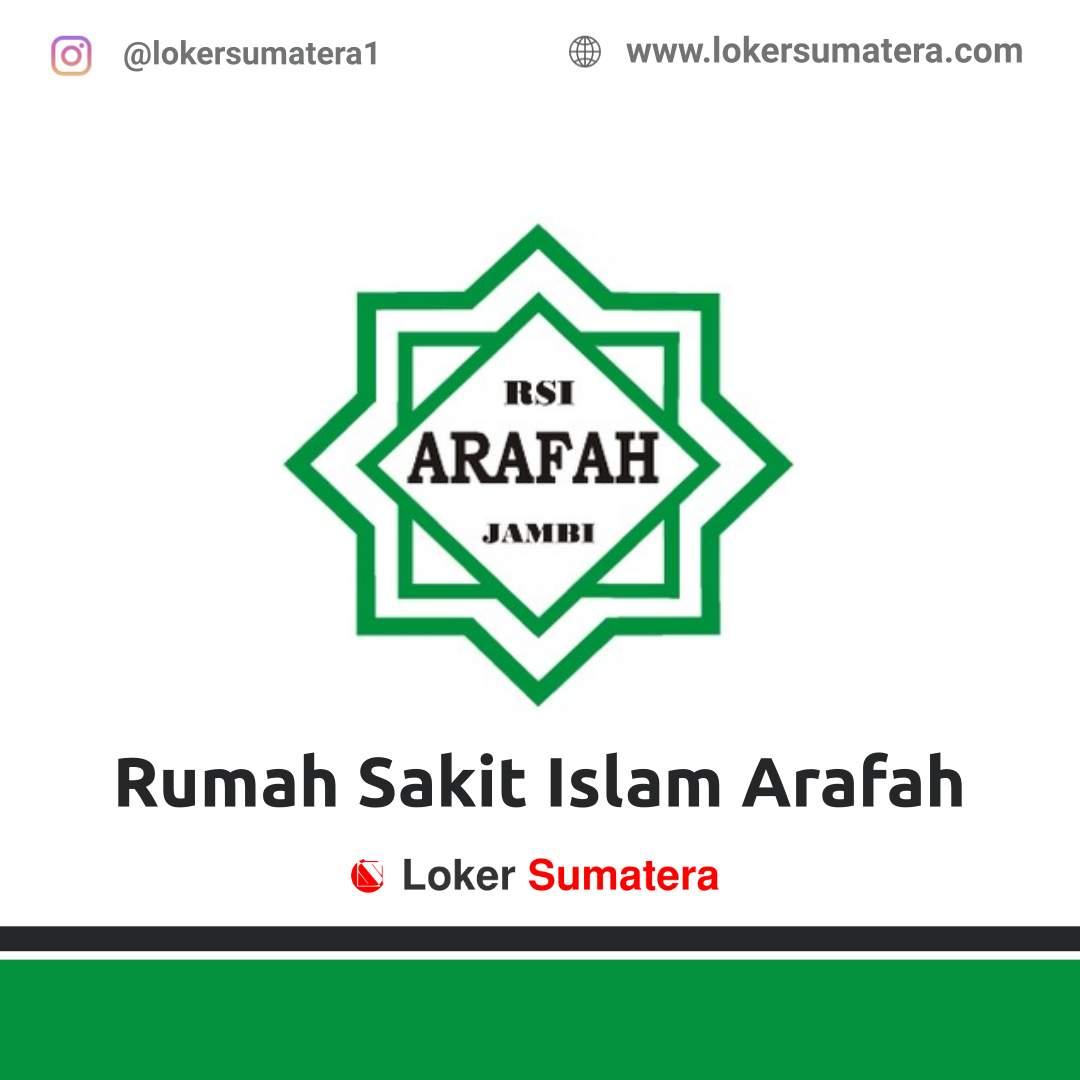 Lowongan Kerja Jambi: Rumah Sakit Islam Arafah Oktober 2020