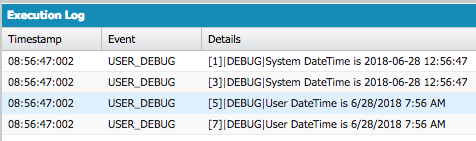 Infallible Techie: How to get current datetime as per the logged in