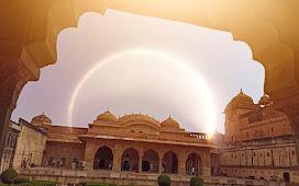 कलात्मक शैली का अद्भुत ऐतिहासिक स्थल आमेर किला जयपुर