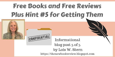 Let's Try a Little Experiment to Keep Review Momentum Going and Growing   Plus Book Review Hint Five
