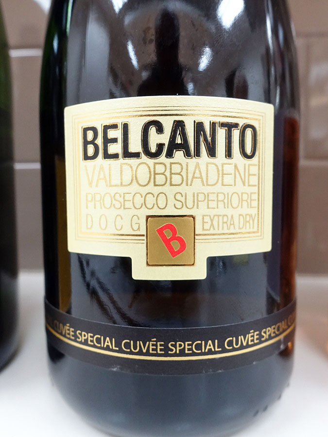 Belcanto di Bellussi Extra Dry Prosecco di Valdobbiadene Superiore (89 pts)
