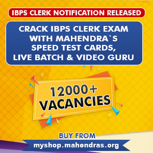 Crack IBPS Clerk Exam With Mahendras