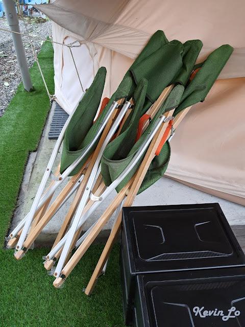 拉波波村營區摺疊露營椅