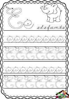 abecedario en cursiva para imprimir pdf