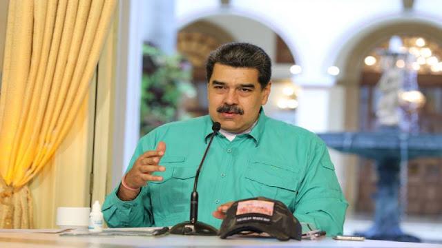 MADURO DICE QUE EL DIÁLOGO EN MÉXICO ES UN «ÉXITO»