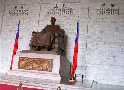 patung chiang kai shek balai peringatan