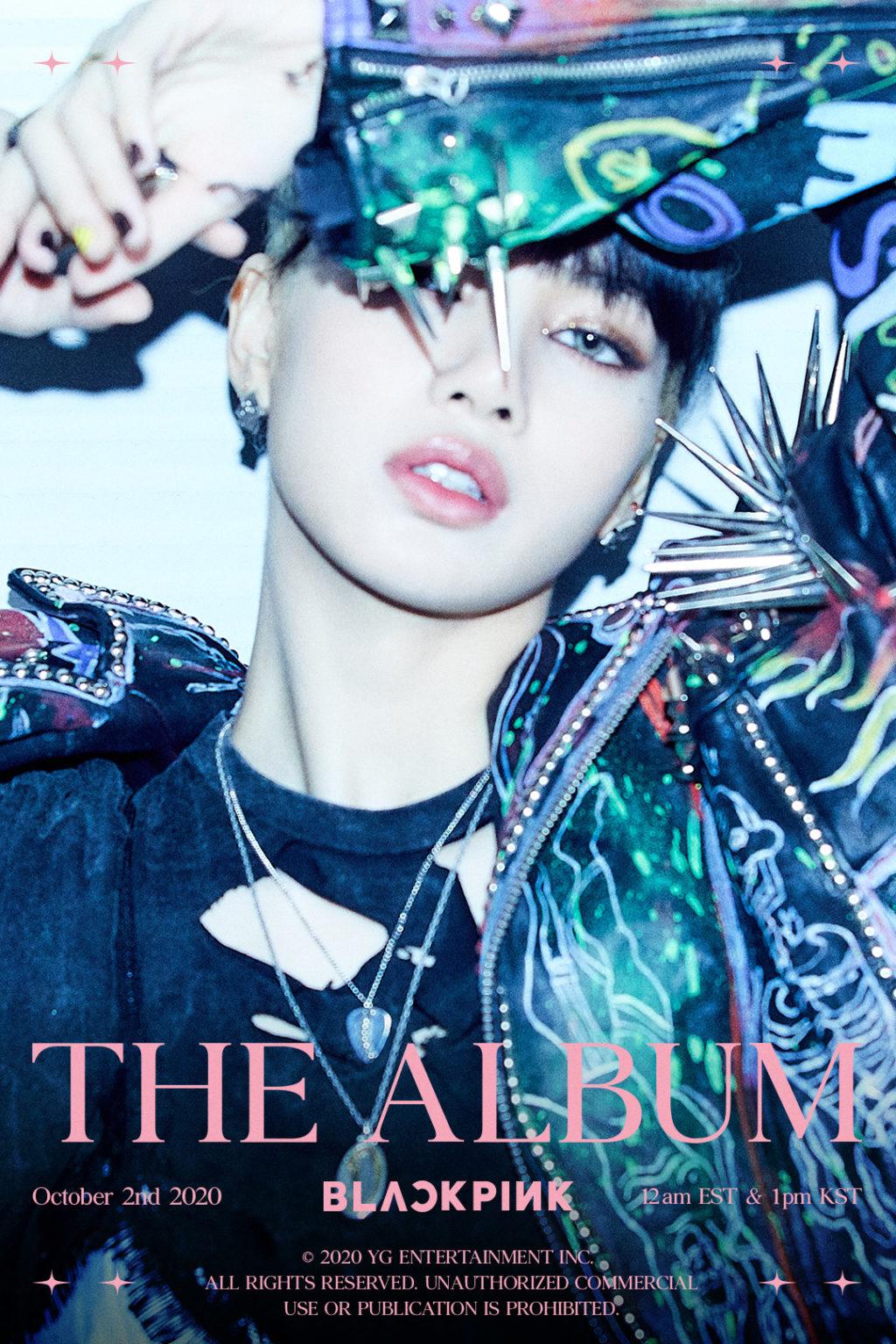 BLACKPINK's Lisa Looks Fierce on 'THE ALBUM' Poster