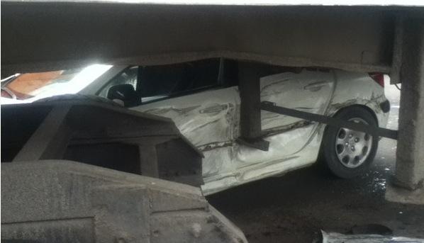 man survive accident
