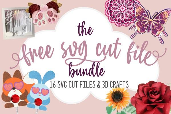 SVG Cut File Bundle