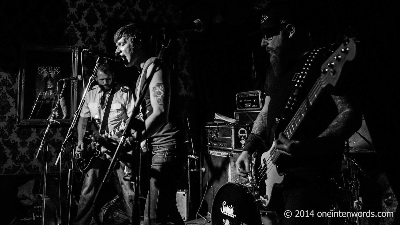 The Fandemics at Cherry Cola's November 21, 2014 Photo by John at One In Ten Words oneintenwords.com toronto indie alternative music blog concert photography pictures
