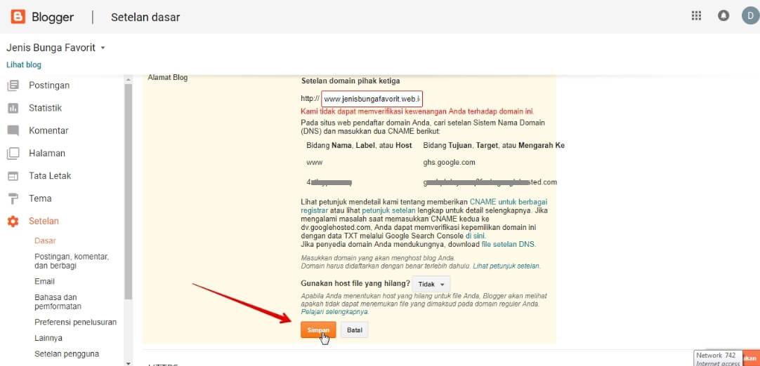 Cara Custom Domain di Dracoola