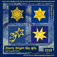 Starry Bright Sky QAL 2018